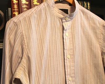 yves saint laurent vtg 70s mens dress shirt 15 1/2 like new 32-33