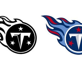 Tennessee Titans Decal/RTIC YETI Car Decal, Computer Decal, Window Decal, Cell Phone Decal