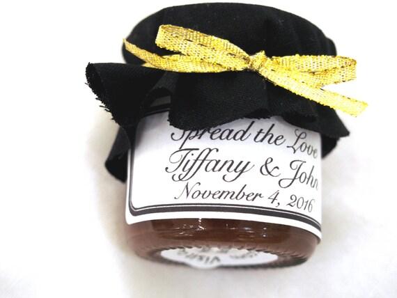 75 mini jars of jam for wedding favors small jam jars for. Black Bedroom Furniture Sets. Home Design Ideas