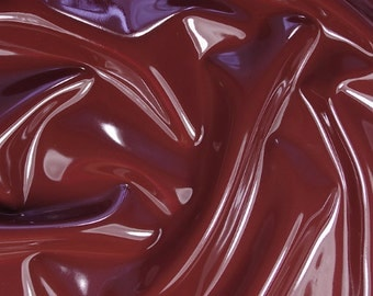 Latex sheet, Chocolate brown 0,4mm thickness 50cm x 100cm (more available)