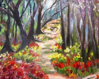 Oil on Canvas  Light My Path