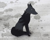 Wolf Brooch - Omens Collection