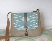 Colorado- Crossbody messenger bag // Adjustable strap // Southwestern // Geometric // Vegan purse // Travel bag // Made to order
