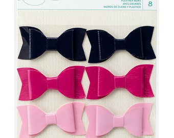 Dear Lizzy Serendipity Pleather Bows   -- MSRP 4.00