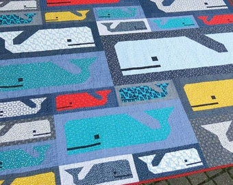 Preppy Pod Quilt Pattern by Elizabeth Hartman