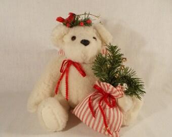 Handmade Christmas Angel Teddy Bear