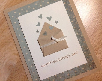 Card - Valentine - Letter of Hearts