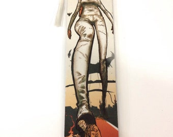 Upcycled Constantine Comic Book Bookmark