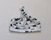 Mountain Knotted Baby Hat