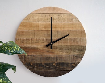 Unique Large Wall Clock Related Items Etsy