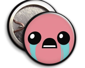 BibleThump - Binding of Isaac -  Button Badge / Pinback - 25mm 1 inch USA - Bible thump