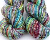 """Kettle Dyed Sock Yarn, Superwash Merino Fingering Weight, in """"Giverny"""""""