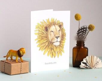 Dandelion Greetings Card