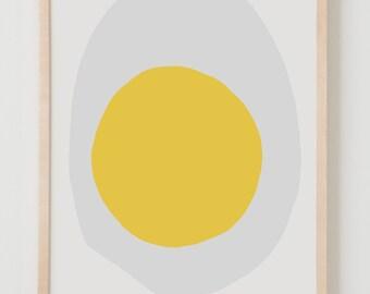 Fine Art Print.  Egg, September 17, 2015.
