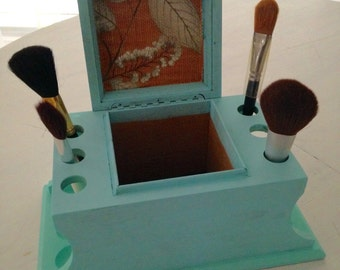 Pipe stand, Cosmetic Brush holder, makeup, crafts, art