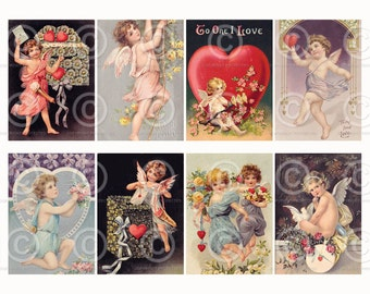 Vintage Valentine Banner Bunting to Download and print