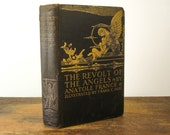 1927 Revolt of the Angels Anatole France Art Deco Illustrations by Frank Pape
