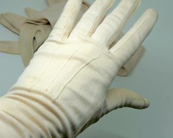 Vintage 1960's Cornelia James evening gloves, formal gloves