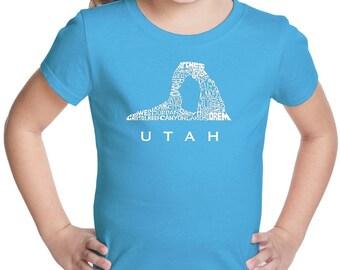 Girl's T-shirt -UTAH