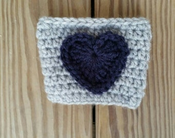 Adorable Re-Usable Crochet Coffee Cozy*Ready to ship the next business day*