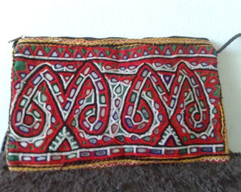 Banjara Indian bag, ethnic shoulder bag, embroidery bag, bohemian, indian hand bag, gypsy bag