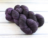 Reserved for Marta: one skein 50/50 Silk Worsted in Royal Arse