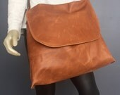 Leather Mail bag Inspired Bag for Males and Females