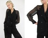 JEAN PAUL GAULTIER Femme See Through Vintage Jacket /Blazer