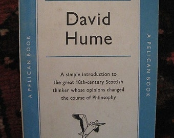 David Hume by A.H. Basson -- 1958 early Penguin Edition paperback -- Near Fine