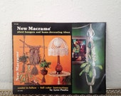 Macrame Book, Craft How To, New Macrame, Plant Hangers and Home Decorating Ideas by Lynn Paulin
