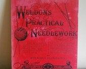"Rare and Original ""Weldon's Practical Needlework"" Volume 2 c.1900"
