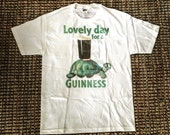 Vintage Men's Lovely Day For A Guinness Shirt