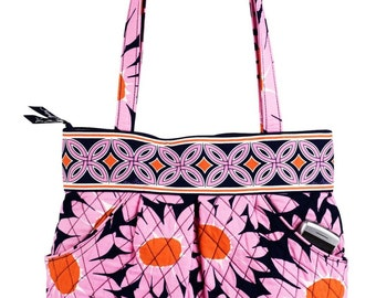 New - Vera Bradley - Morgan Satchel - Loves Me - New with Tags