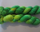 Mini - Sox - 75/25 super wash merino/nylon - 50 gr skeins - Greens
