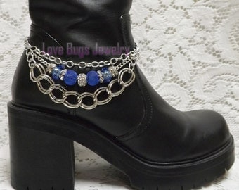 Royal Bling Boot Jewelry, Boot Bracelet, Boot Bling, Boot Jewelry, Cowgirl Boot Bling, Boot Band Bracelet