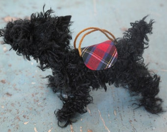 scottie dog, dog decoration, dog lover gift, gift items, dog art, dog gift, dog lover decor, Miniature dog, custom dog portrait