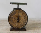 Scale Vintage Way Rite Scale Kitchen Scale Green Scale 25 Pound Scale