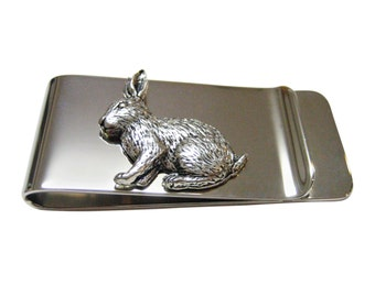 Sitting Rabbit Money Clip