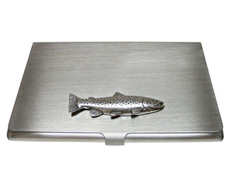 Trout Fish Business Card Holder