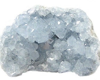Blue Celestite Celestine Crystal Cave Geode Cluster Display Specimen, Geology Sample for your rock and mineral collection,African Gemstone