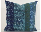 """Cushion Cover Pillow Cover Vintage 60s April Shower Fabric By Nicola Wood For Heals 16"""" x 16"""""""