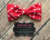 Valentine Bowtie Bow Tie Boys Toddler Infant Valentines Day Cupid Collar Bow Hairbow