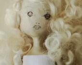 Handmade Clay Little Miss Doll