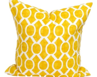 Yellow Pillow, Yellow Pillows, Yellow Pillow Cover, Decorative Pillow, Yellow Throw Pillow, All Sizes, Yellow Euro, Yellow Cushion, Sydney