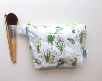 Herb Garden Divided Pouch Small (handmade philosophy's pattern)