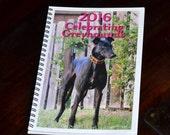 2016 Celebrating Greyhounds Planner