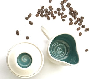Creamer pitcher - Coffee Creamer - Ceramic small pitcher