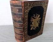 Antique Leather German Bible - Die Bibel oder Die Ganze Heilige Schrift - 1903 - Family Genealogy