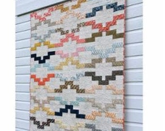Interlock Quilt Pattern by Amy Friend