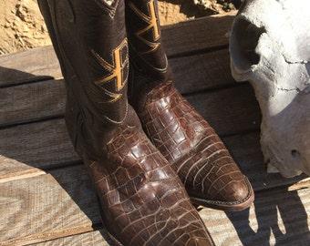 Vintage custom Boots 8.5